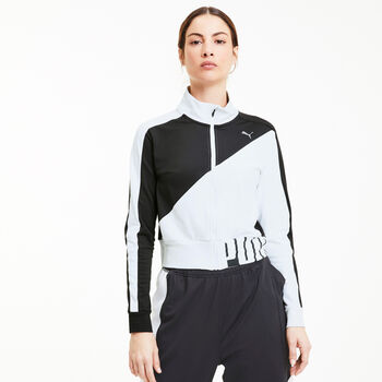 Puma Train Stretch Knit - Løbejakke Damer Sort