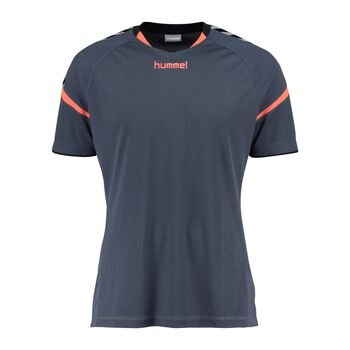Hummel Authentic Charge SS Poly Jersey Herrer Blå
