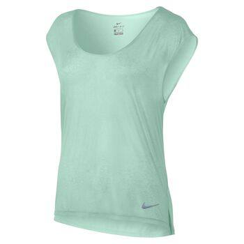 Nike Breathe Top SS Cool Damer Grøn