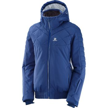 Salomon Sun & Shine Jacket Damer Blå