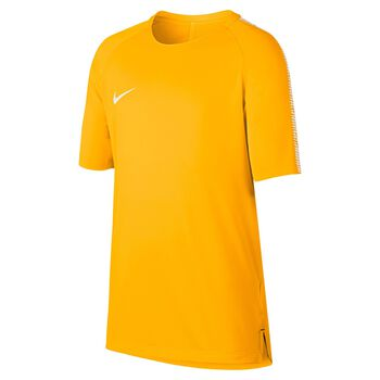 Nike Breathe Squad Football Top Orange