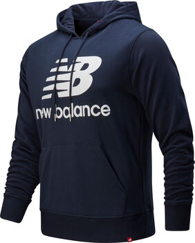 New Balance Essentials Stacked Logo Hættetrøje Herrer