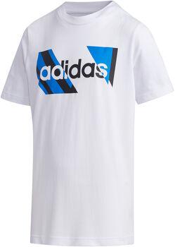 adidas YB Q2 T - Hvid T-shirt