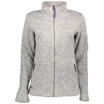 McKINLEY Rubin Knit Fleece Jacket Damer Grå