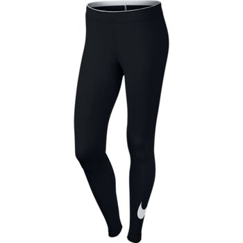 Nike Club Logo 2 Legging Damer Sort