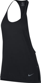 Nike  Tailwind Tank Cool LX Damer Sort