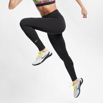Nike All-In Training Tights Damer Sort