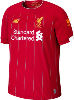 New Balance Liverpool FC Home SS Jersey Herrer
