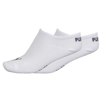 Puma Invisible Sock 3 Pack Hvid