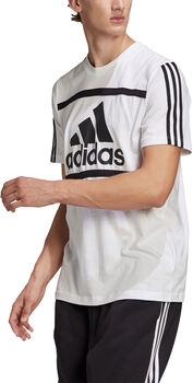 adidas Essentials Logo Colourblock T-shirt Herrer
