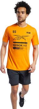 Reebok Speedwick Graphic Move T-shirt Herrer Orange