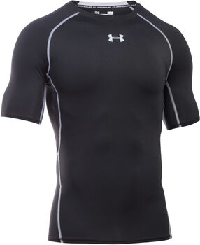 Under Armour HeatGear Armour T-shirt Herrer Sort