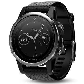 Garmin Fenix 5S Sort
