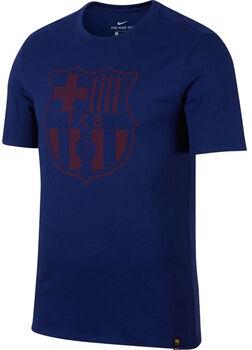 Nike FCB Tee Crest Herrer Blå