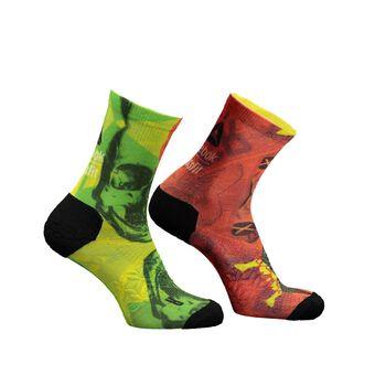 Reebok CF Print Crew Sock Multifarvet