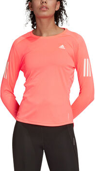 adidas Own The Run Long Løbetrøje Damer Pink