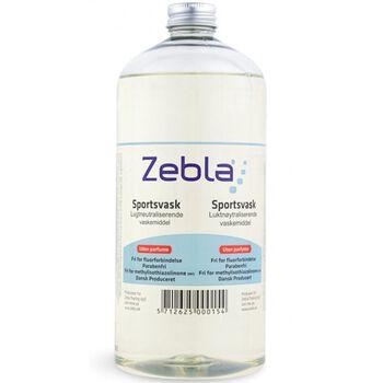 Zebla Sportsvask 1000 ml U/ Parfume gennemsigtig