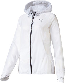 Puma Get Fast Hooded Full Zip Running Jacket Damer
