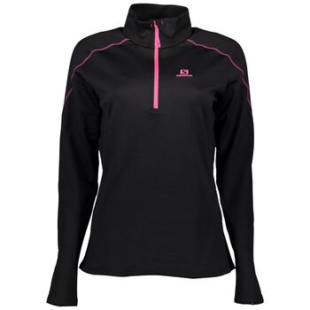 Salomon Strike Mid Halfzip Damer Sort