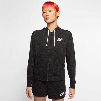 Nike Sportswear Gym Vintage Full-Zip Hættetrøje Damer Sort