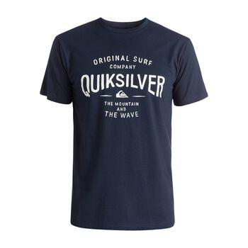 Quiksilver Clastegeeclaiit M Tee Mænd Blå