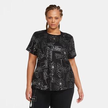 Nike Sportswear Icon Clash T-shirt Damer Sort