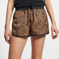 Sportswear Animal Print Woven Shorts