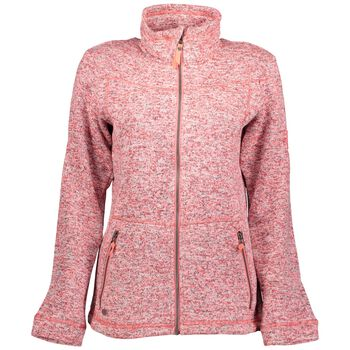 McKINLEY Rubin Knit Fleece Jacket Damer Pink