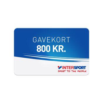 INTERSPORT Gavekort 800,00