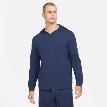 Nike Dri-FIT yoga hættetrøje Herrer Blå