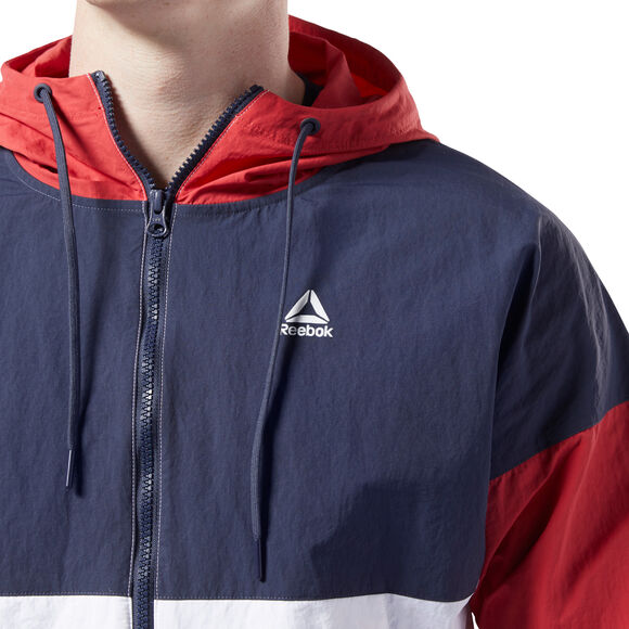 Training Essentials Linear Logo Windbreaker