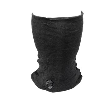 Buff Wool Thermal Neckwarmer Grå