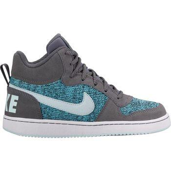 Nike Court Borough Mid Se GS Grå