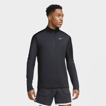 Nike Dri-Fit 1/2 Zip Running Top Herrer Sort