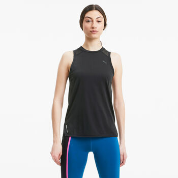 Puma Train Mesh Panel - Tank top Damer Sort