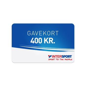 INTERSPORT Gavekort 400,00
