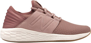 New Balance Fresh Foam Cruz v2 Nubuck Damer Pink
