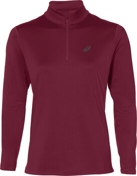 Asics Silver 1/2 Zip Winter Top Damer