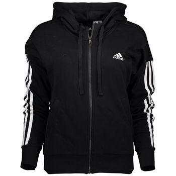 ADIDAS Essential 3S Fz Hood Damer Sort