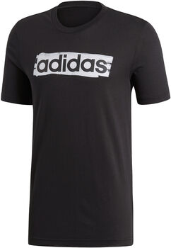 ADIDAS Essentials Linear Brush Tee Herrer
