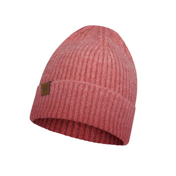 Buff Knitted Hat Leisure Rød