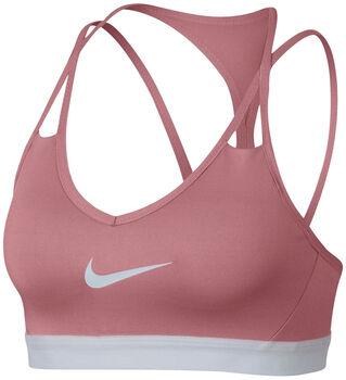 Nike Pro Indy Cooling Bra Damer Pink