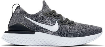 Nike Epic React Flyknit 2 Damer Sort