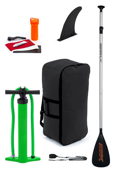 SUP Storm Inflatable Stand Up Paddleboard inkl. leash