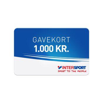 INTERSPORT Gavekort 1000,00