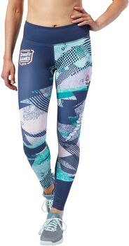 Reebok Lux Tight - Print Damer