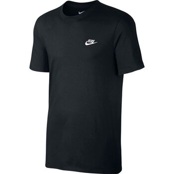 Nike Nsw Tee Club Futura Herrer Sort
