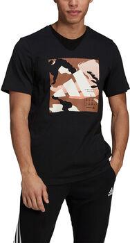 adidas Badge of Sport Camo Graphic T-shirt Herrer