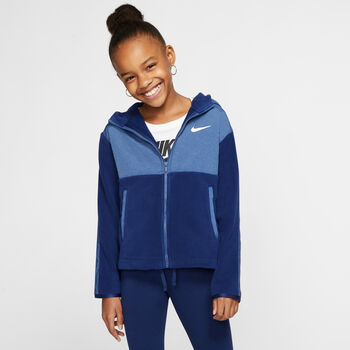 Nike Therma Big Kids' Full-Zip Training Hoodie Piger