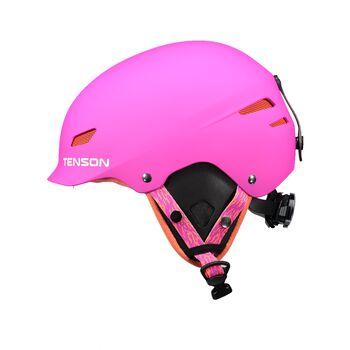 Tenson Park Skihjelm Pink